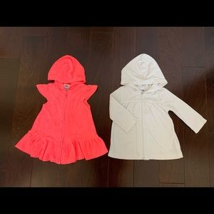Old Navy set of 2 swim cover-up, size 12-18 mo